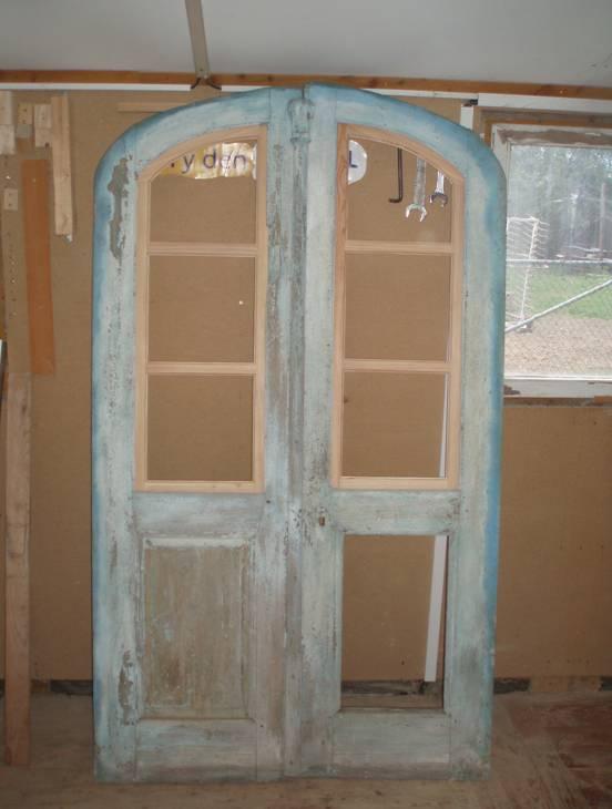Stará okna za odvoz