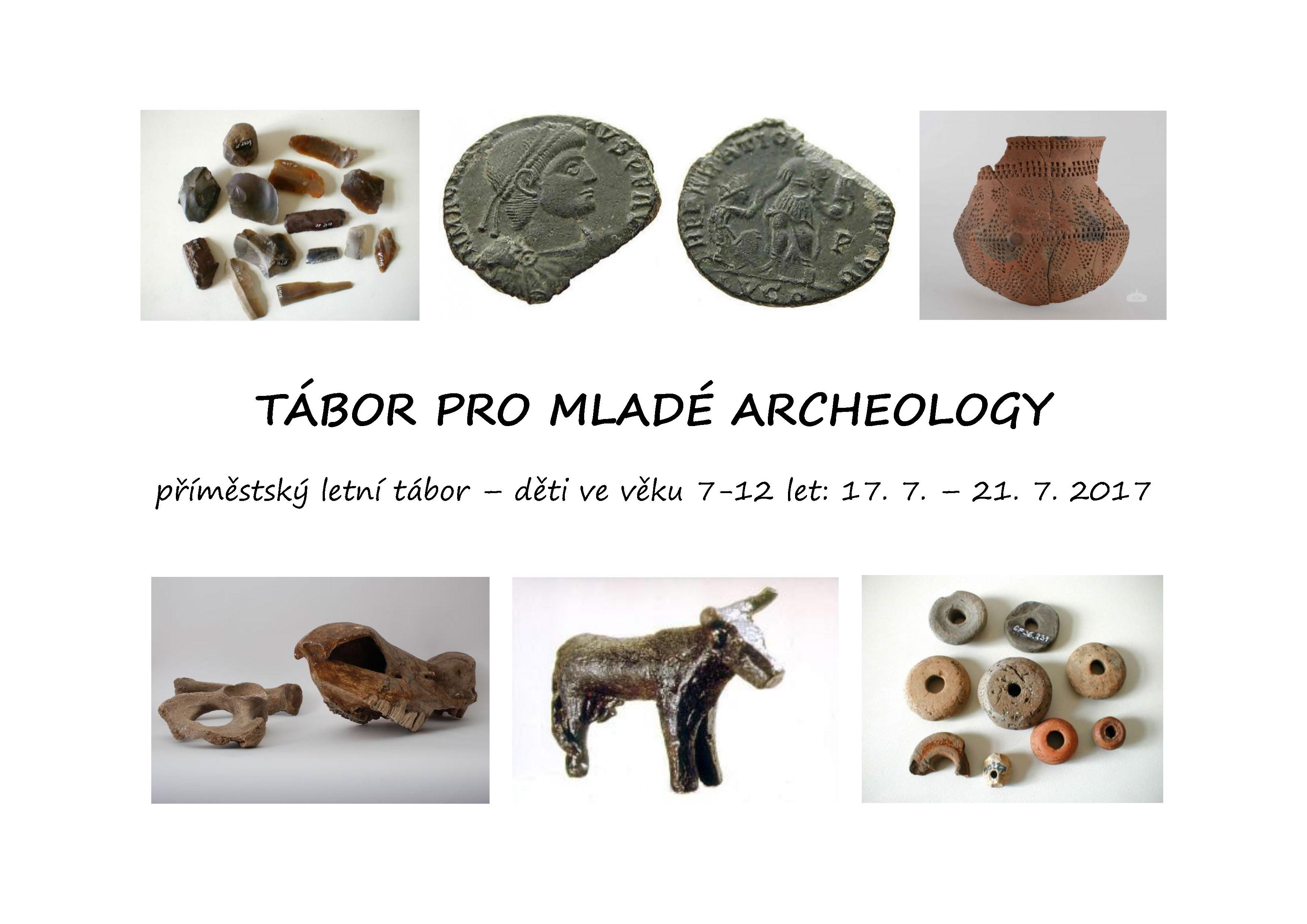 Tábor pro mladé archeology 2017